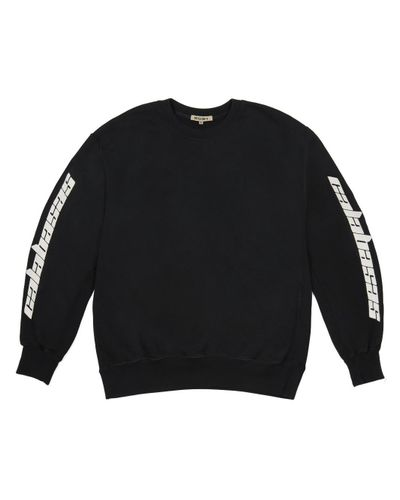 Men's Black Calabasas Boxy Crewneck by Yeezy, available on lyst.com for $250 Kendall Jenner Top Exact Product