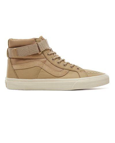 Chaussures En Daim Et Cuir Sk8-hi Reissue Strap en Cuir Vans - Lyst