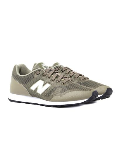 New Balance Synthetic 373 Re-engineered Khaki Trainers in ...