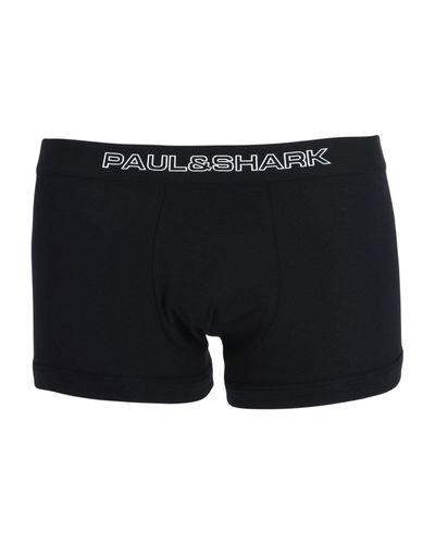 Caleçon Coton Paul & Shark pour homme en coloris Noir - Lyst