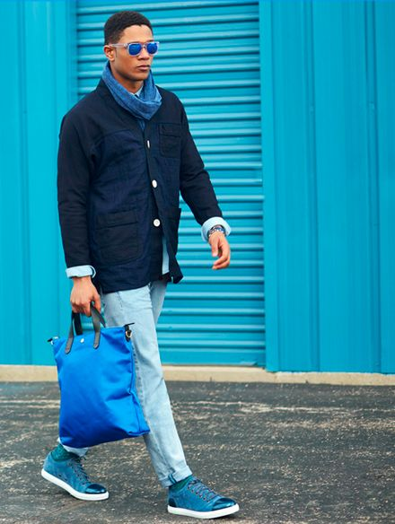 How to Wear: Blue