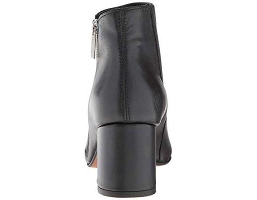 6442609a9e2b6 Women's Black Hayes Diagonal Side Zip Ankle Bootie Boot