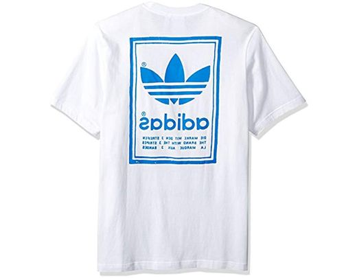6ac4e4ca adidas Originals Vintage Tee in White for Men - Save 8% - Lyst