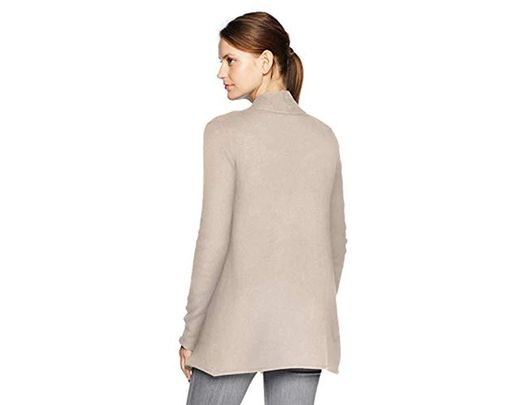 4cd24bc62bd9f7 Velvet By Graham & Spencer Terrah Cashmere Classic Cardigan in Natural -  Save 14% - Lyst