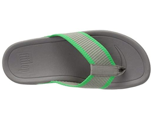 Men S Green Surfer Super Cushioned Flip Flop