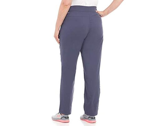 ead3c0e29da Lyst - Columbia Plus Size Anytime Casual Pull On Pant in Blue
