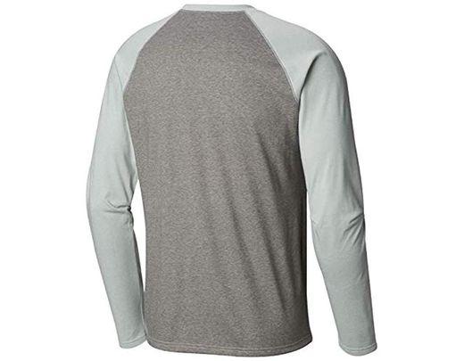 cfef87a758f14 Men's Gray Thistletown Park Raglan Tee Shirt
