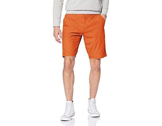 Short Coloris Homme Orange De stQrCBhdx