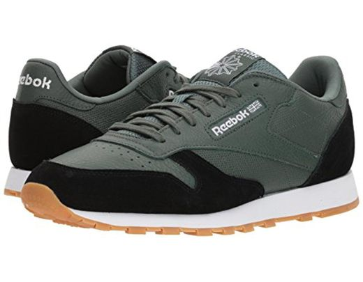 Cl Gi Men's Leather Cross Sneaker 3LARqj5c4S