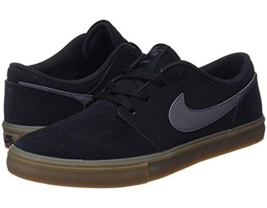 f7db3e8c6e Nike Sb Portmore Ii Solar Skateboarding Shoes in Black for Men - Save 11% -  Lyst