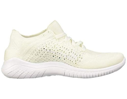 f8b2e980c0854 Women's White Wmns Free Rn Flyknit 2018 Running Shoes