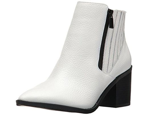 dfc0c4654470 Lyst - Kenneth Cole Reaction Cue Up Block Heel Bootie Pointed Toe ...