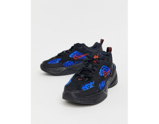 Nike Multi Animal Print M2k Tekno Sneakers in Blue - Lyst