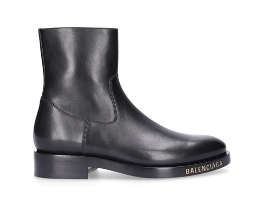 bfdc87933222b Balenciaga Ankle Boots Calfskin Black in Black for Men - Lyst