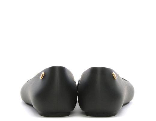 66240d6c700 Women's X Melissa Space Love Matt Black Pearl Orb Ballet Court Shoes