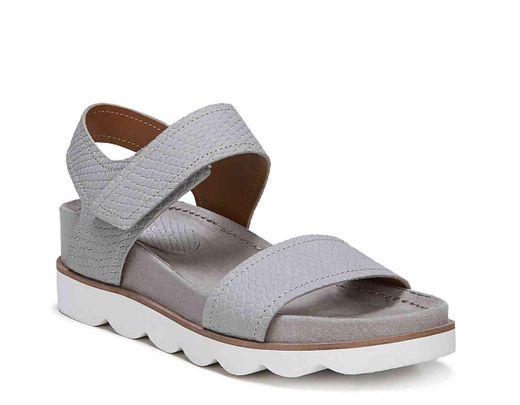 ab6ccb367bea Lyst - Franco Sarto India Wedge Sandal in Gray
