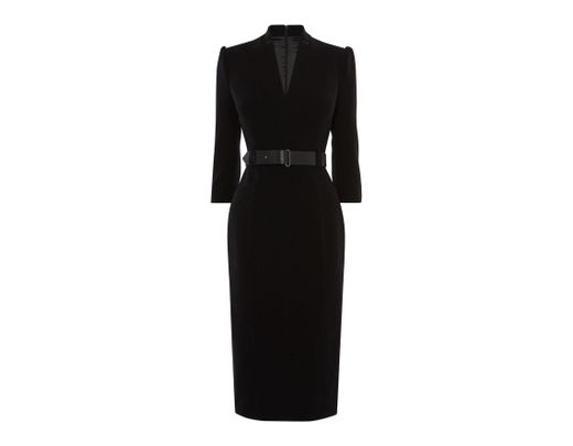 65fd0b86753c Karen Millen Forever Dress in Black - Save 25% - Lyst