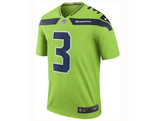 new concept 18bd8 81442 Green Nfl Seattle Seahawks Color Rush Limited (russell Wilson) Men's  Football Jersey
