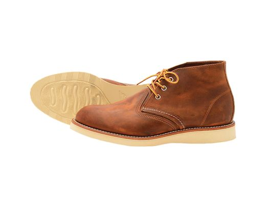 Red Mens 3137 Chukka Copper Wing Leather w8m0ONvn