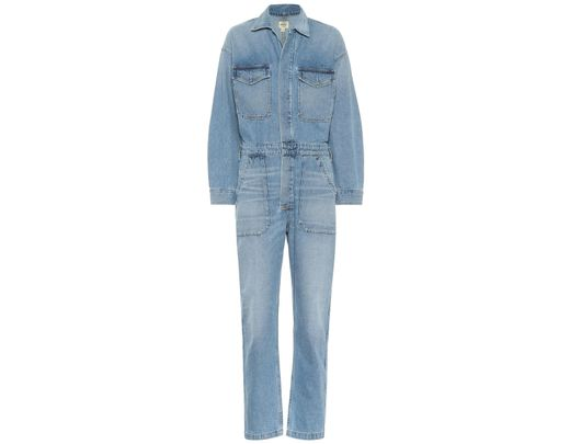 7242bff00 Citizens of Humanity Marta Denim Jumpsuit in Blue - Save 33% - Lyst
