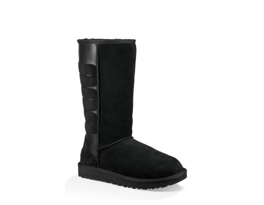 1fc6a32d2f6 Women's Black Ugg Sparkle Classic Tall Boot