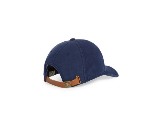 ae94b660f Timberland Rye Beach Logo Patch Ball Cap in Blue for Men - Lyst