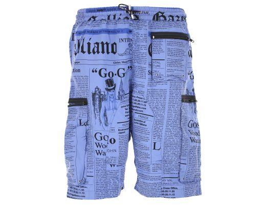 1093833e16df Maillots de Bain Homme Pas cher en Soldes John Galliano pour homme en  coloris Bleu - 20 % de réduction - Lyst