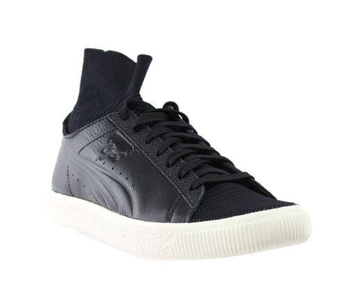 82478ed73c97 Lyst - PUMA Clyde Sock Caviar Fm in Black for Men