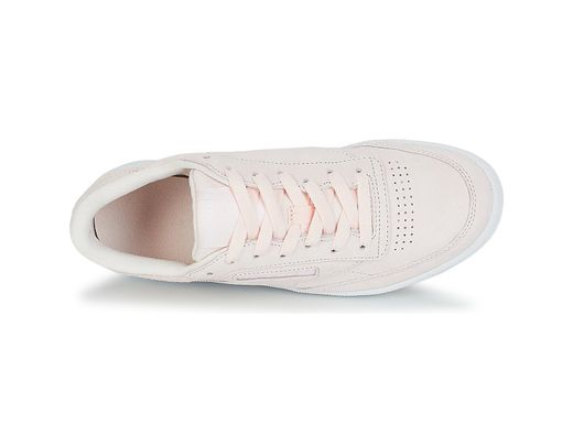 c3d17ae96d3 Reebok Club C 85 Trim Nbk Shoes (trainers) in Pink - Lyst