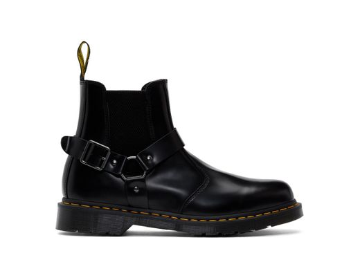 a07535746b7 Dr. Martens Black Wincox Chelsea Boots in Black for Men - Save 7% - Lyst