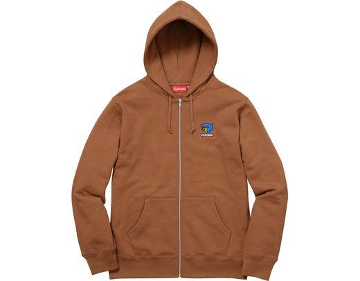4c53a7b6 Supreme Gonz Ramm Zip Up Sweatshirt Rust in Brown for Men - Lyst