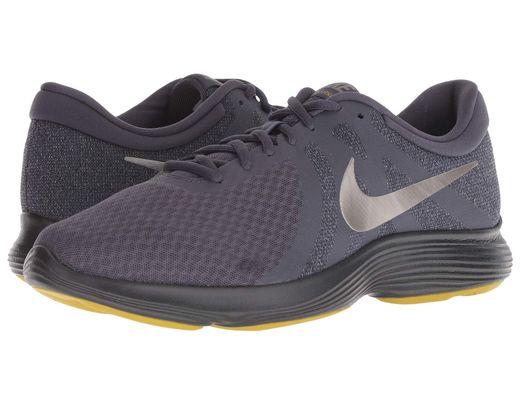 0a40d5ac1637 Nike. Gray Revolution 4 (dark Grey gym Blue anthracite white) Men s Running  Shoes