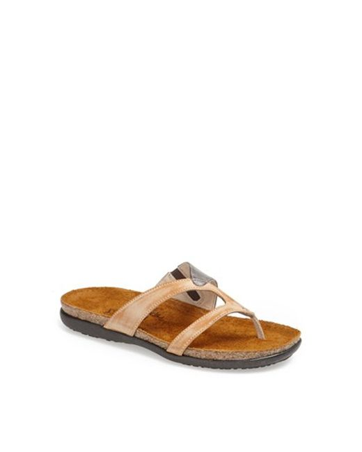 Naot | Brown 'francine' Sandal | Lyst