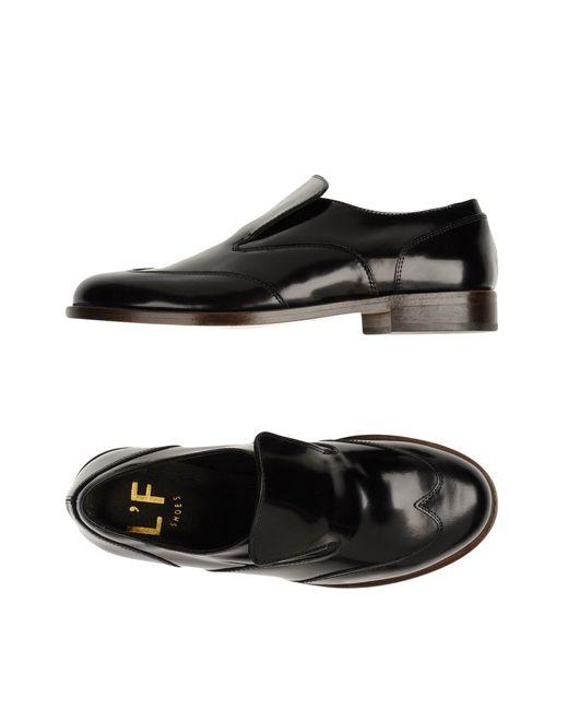 L'f Shoes | Black Loafer | Lyst