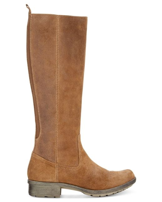 Clarks Collection Women S Riddle Quest Tall Boots In Beige