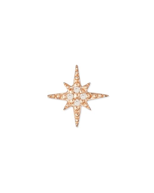 Sydney Evan | Pink Starburst Diamond Single Stud Earring | Lyst