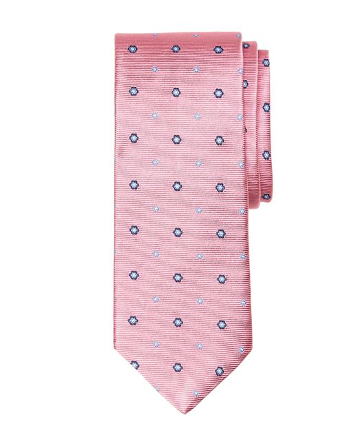 Brooks Brothers | Pink Spaced Flower Tie for Men | Lyst