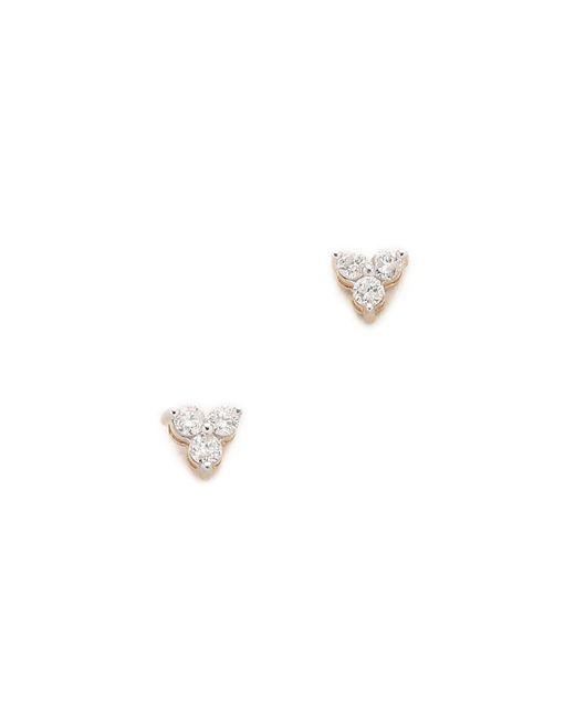 Adina Reyter | Metallic Diamond Cluster Earrings | Lyst