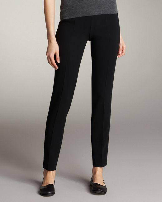Akris | Black Slim Ankle-cut Pants | Lyst
