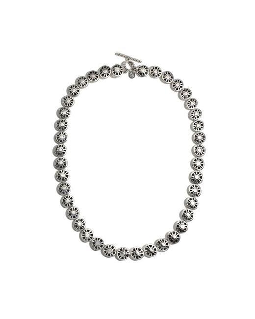John Hardy   Metallic Hammered Link Necklace   Lyst