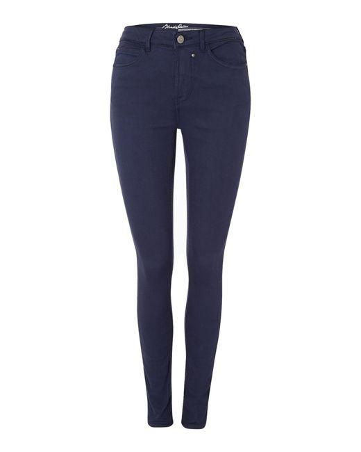 Blend She | Blue Glow Demon Slim Jeans | Lyst
