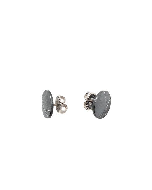 Todd Reed   Metallic White Diamond X Stud Earrings   Lyst