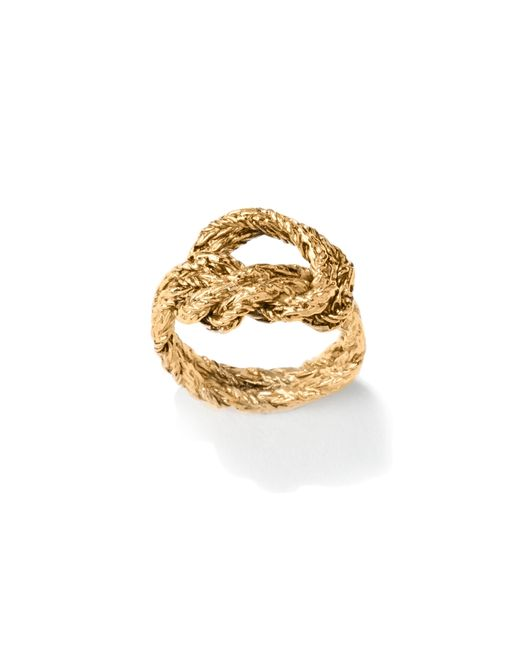 Aurelie Bidermann   Metallic Lasso Ring   Lyst