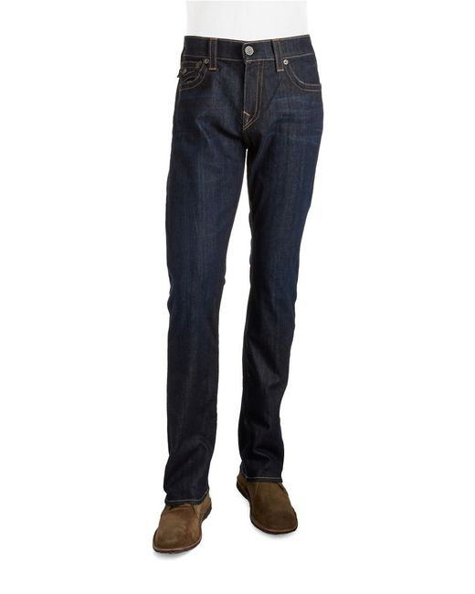 True Religion | Blue Ricky Relaxed Straight Jeans for Men | Lyst