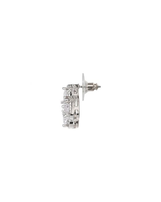 Mikey | Multicolor Square Quad Stones Stud Earring | Lyst