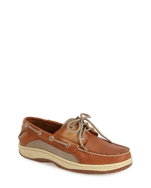 Sperry Top-Sider | Brown 'billfish' Boat Shoe for Men | Lyst