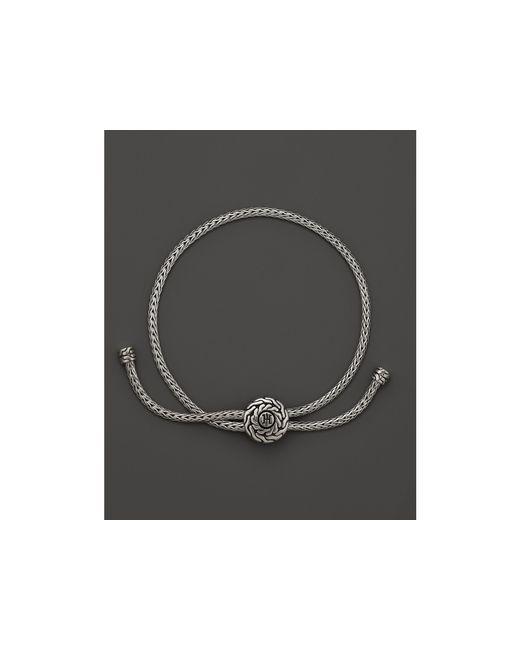John Hardy | Metallic Classic Chain Silver Knot Bracelet | Lyst