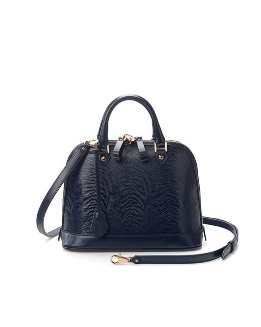 Aspinal | Blue Hepburn Mini Bag | Lyst