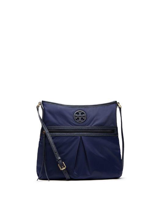 Tory Burch | Blue Nylon Swingpack | Lyst