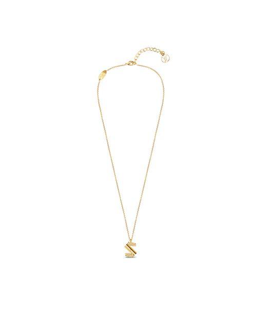 Louis Vuitton | Metallic Lv & Me Necklace, Letter S | Lyst